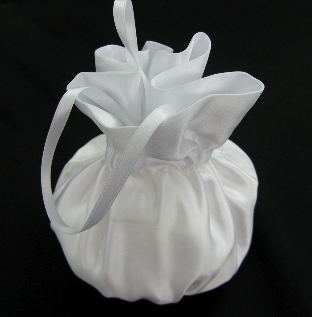 Brautbeutel wei